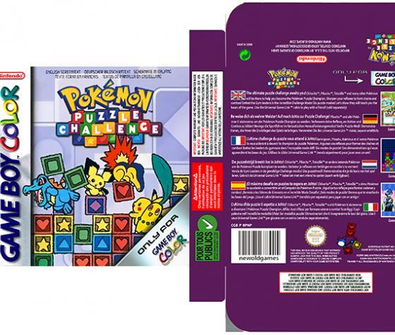 Pokémon PUZZLE Challenge PAL EUR ESP NINTENDO