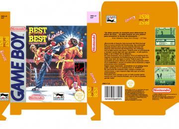BEST OF THE BEST JUEGO NINTENDO GB GAME BOY CAJA RETRO REPRO