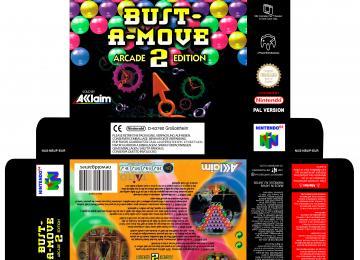 BUST A MOVE 2 PAL EUR N64 CAJA BOX