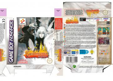 CASTLEVANIA ARIA OF SORROW PAL EUR ESP CAJA BOX