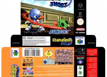 CHAMELEON TWIST N64 CAJA BOX
