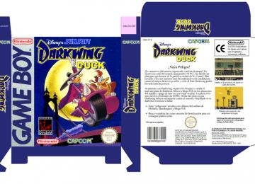 DARWIN DUCK GAME BOY GB CAJA PAL ESPAÑA BOX PORTRAIT RETRO REPRO NINTENDO