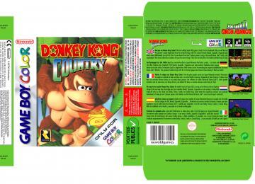 DONKEY KONG COUNTRY GAME BOY CAJA PAL ESP BOX