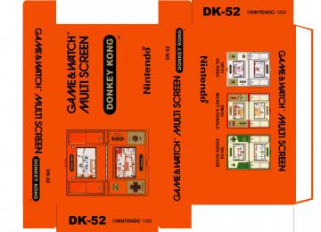 DONKEY KONG DK-52 MULTISCREEN PAL CAJA BOX
