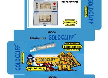 GOLDCLIFF MV-64 game watch caja plantilla box