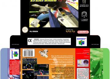 LYLAT WARS CUSTOM BOX CAJA PORTRAIT ESPAÑOL NINTENDO 64 N64 NINTENDO BOX PORTRAIT CAJA