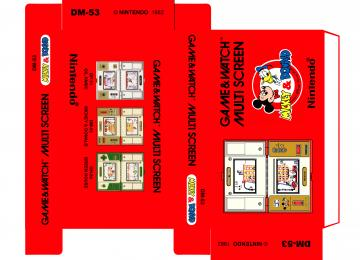 MICKEY & DONALD DM-53 MULTI SCREEN CAJA BOX