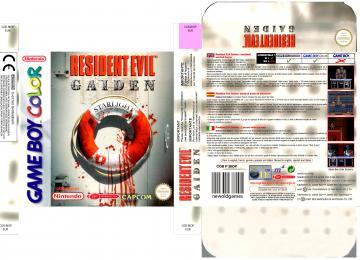 RESIDENT EVIL GAIDEN GAME BOY COLOR PAL ESP EUR CAJA BOX