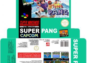SUPER PANG SNES CAJA BOX