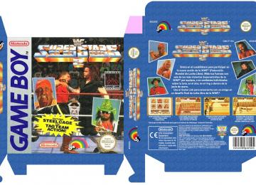 WWF SUPERSTARS 2 CAJA BOX PORTRAIT GAME BOY GB NINTENDO
