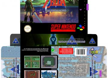 ZELDA PARALLEL WORLDS SNES CAJA CUSTOM PAL ESP